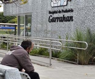 foto: Las salas de coronavirus del Garrahan tienen una ocupación del 100%