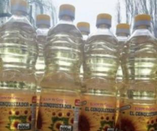 foto: Prohíben la comercialización de un aceite de girasol