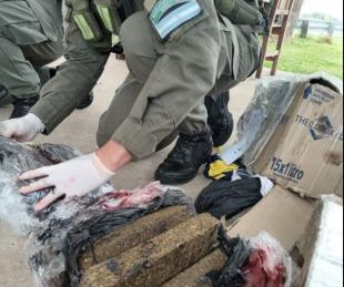foto: Entre Ríos: lo detuvieron mientras esperaba 18 kilos de marihuana