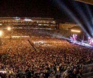 foto: 50 mil personas disfrutaron del show más grande desde el inicio de la pandemia