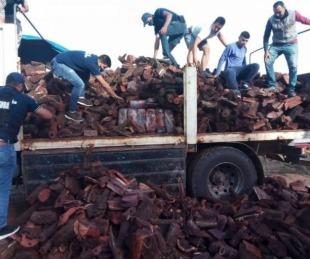 foto: Chaco: demoran a un camión con más de 500 kilos de marihuana