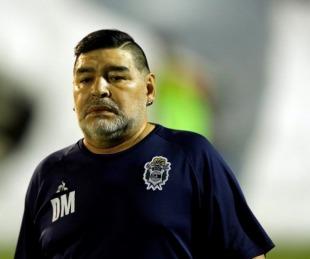 foto: ¿Cómo estaba el cuerpo de Diego Maradona al morir?