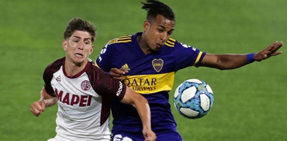 Con gol de Izquierdoz, Boca le gana a Lanús por 1 a 0