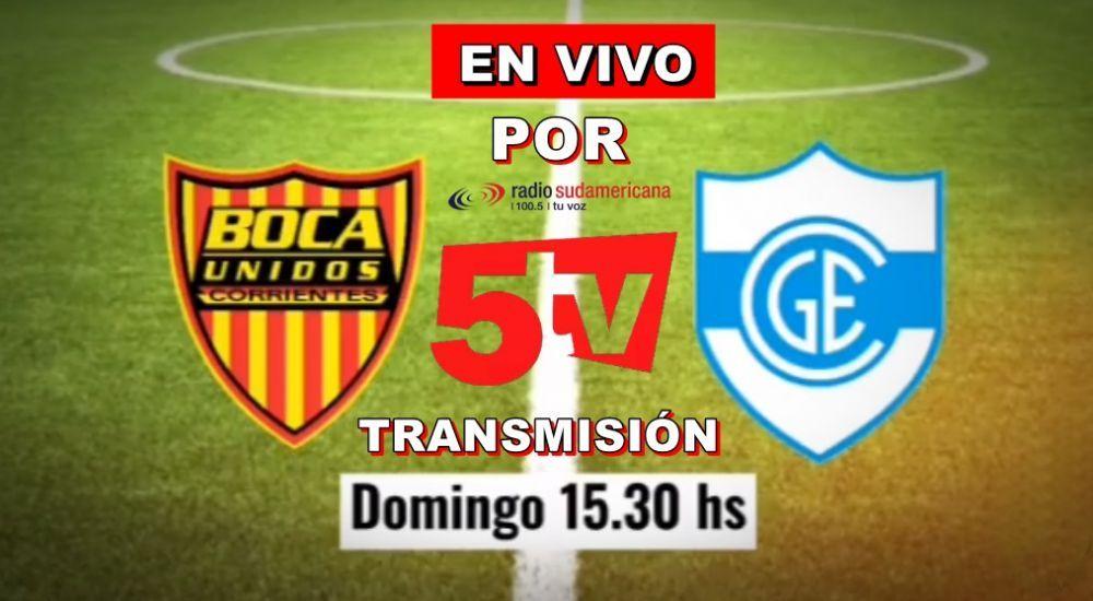 Boca Unidos recibe a Gimnasia y Esgrima: Vivilo por Sudamericana y 5TV