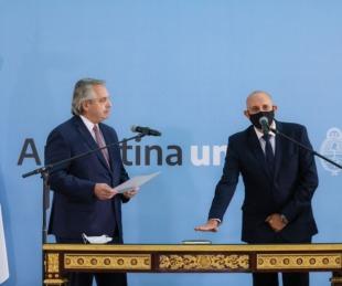 foto: El Presidente tomó juramento como nuevo ministro de Transporte