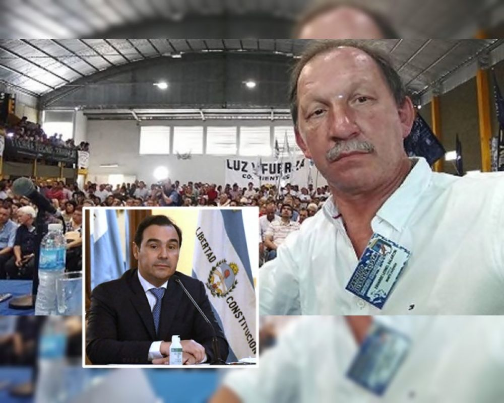 Valdés manifestó sus condolencias por el fallecimiento de Galantini
