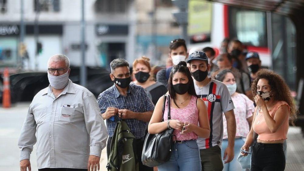 Argentina: confirmaron 540 nuevas muertes y 15.920 contagios