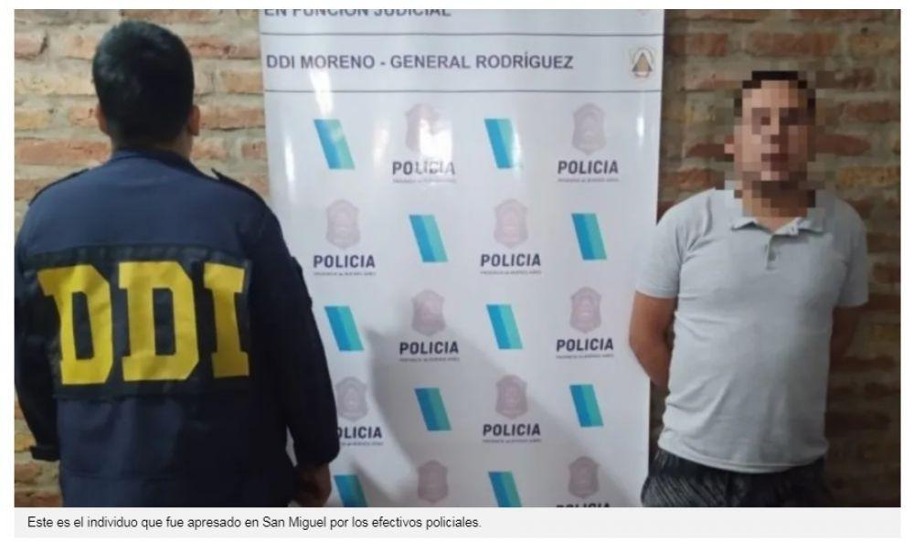 Cayó otro de los ex presos que violó a compañero en una celda
