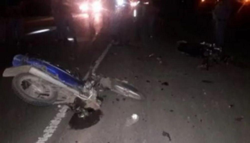 Murió una motociclista de 25 años en una triple colisión