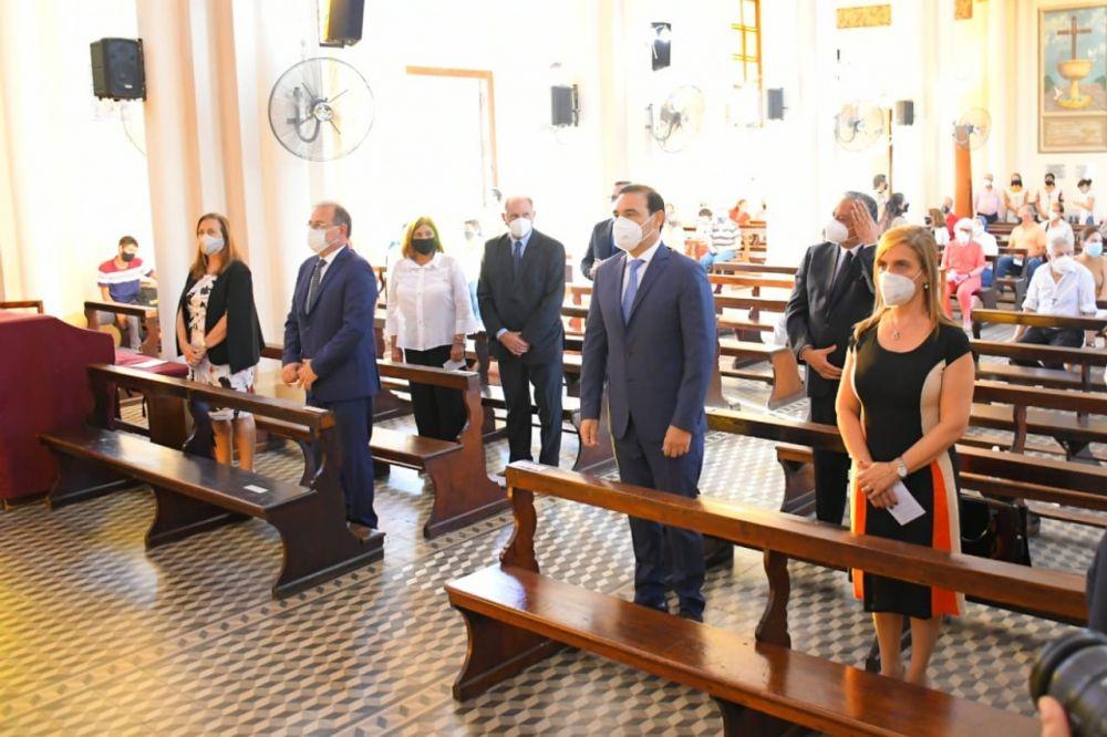 Valdés destacó a la Cruz de los Milagros como símbolo de fe