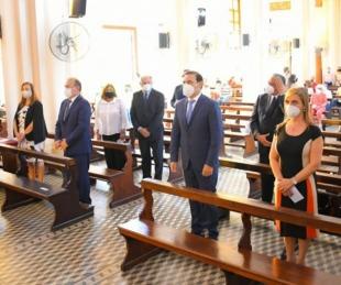 foto: Valdés destacó a la Cruz de los Milagros como símbolo de fe