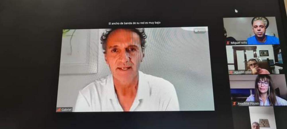 Tincho Ascúa analizó la situación del país con ministros de Alberto