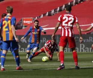 foto: Barcelona y el Atlético Madrid empataron 0-0 en un gran partido