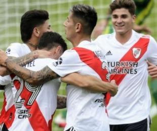 foto: River goleó, clasificó y enfrentará a Boca en los cuartos de final