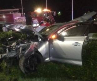 foto: Accidente fatal en Tigre: el conductor se negó a declarar