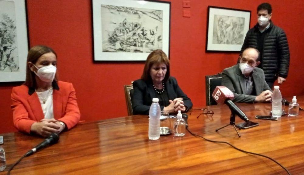 No aceptamos ningún tipo de impunidad, dijo Patricia Bullrich