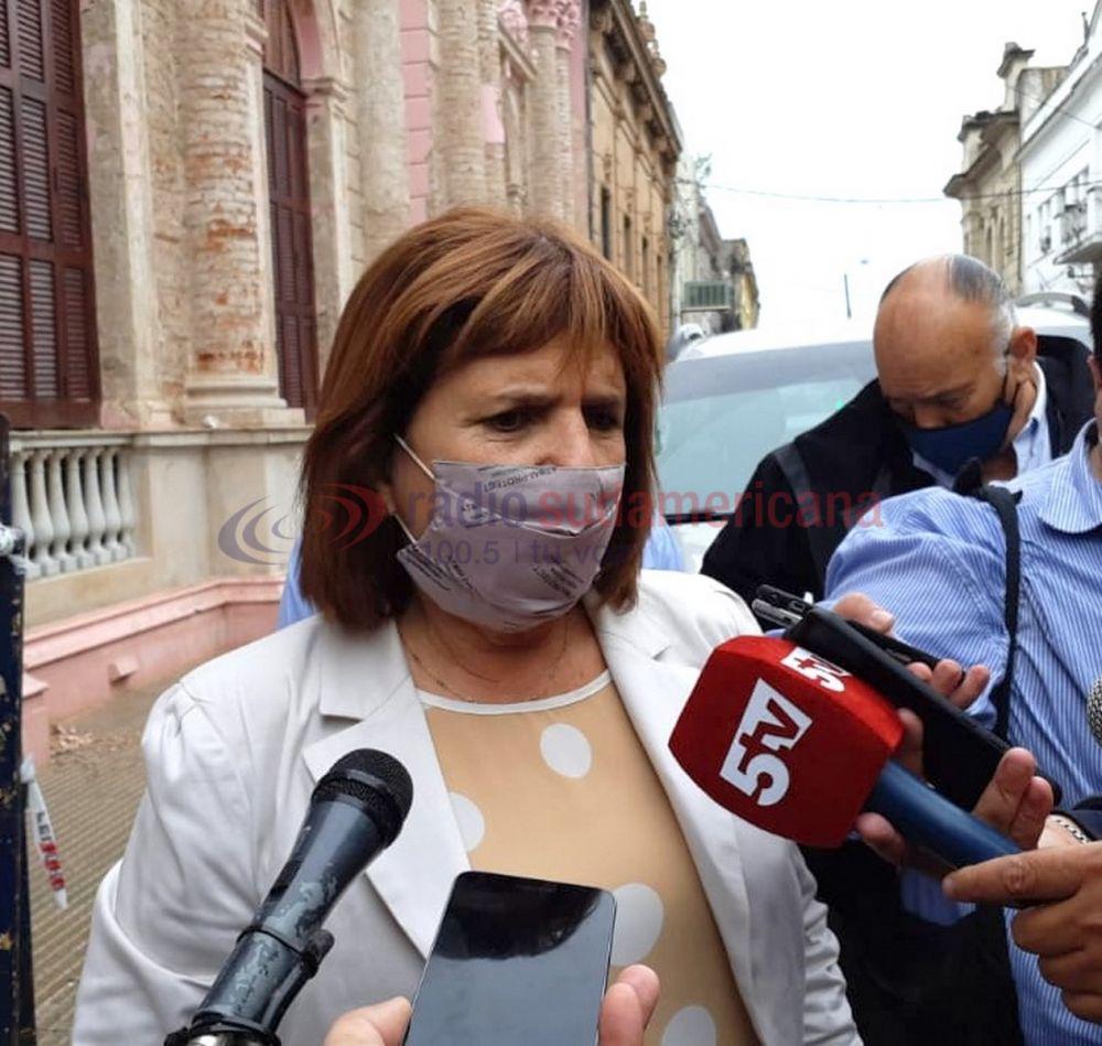 Patricia Bullrich habló de los escandalosos audios de Regidor
