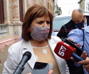 foto: Patricia Bullrich habló de los escandalosos audios de Regidor