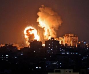 foto: Hubo 20 muertos por el bombardeo de represalia de Israel a Gaza