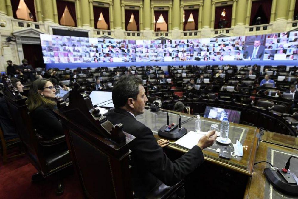 Diputados se refirieron a la postergación de las PASO