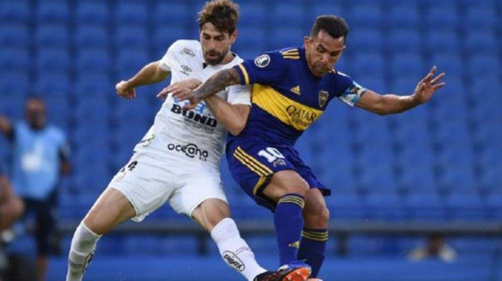 Boca visita a Santos por la Libertadores: seguilo por Sudamericana
