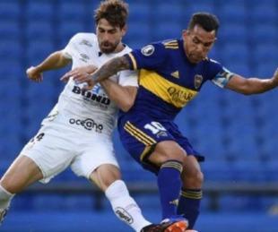foto: Boca visita a Santos por la Libertadores: seguilo por Sudamericana