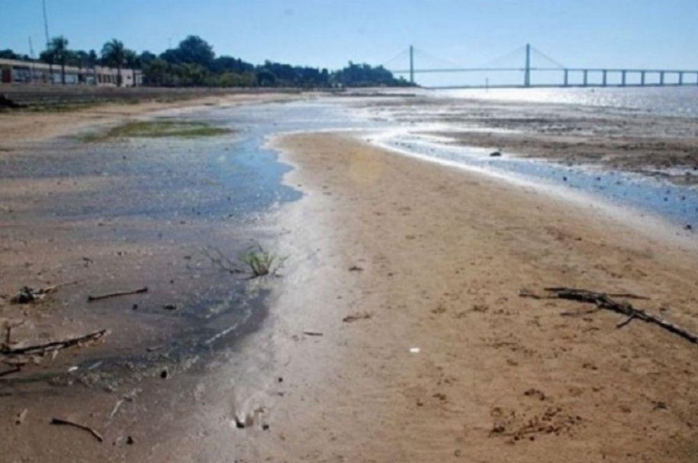 Prevén que la bajante del Paraná será igual de histórica que en 2020
