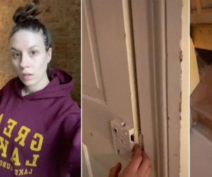 foto: Encontró un pasadizo secreto en una casa de 148 años de antigüedad