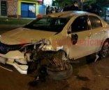 foto: Adolescente salió en el auto de su padre sin permiso y volcó