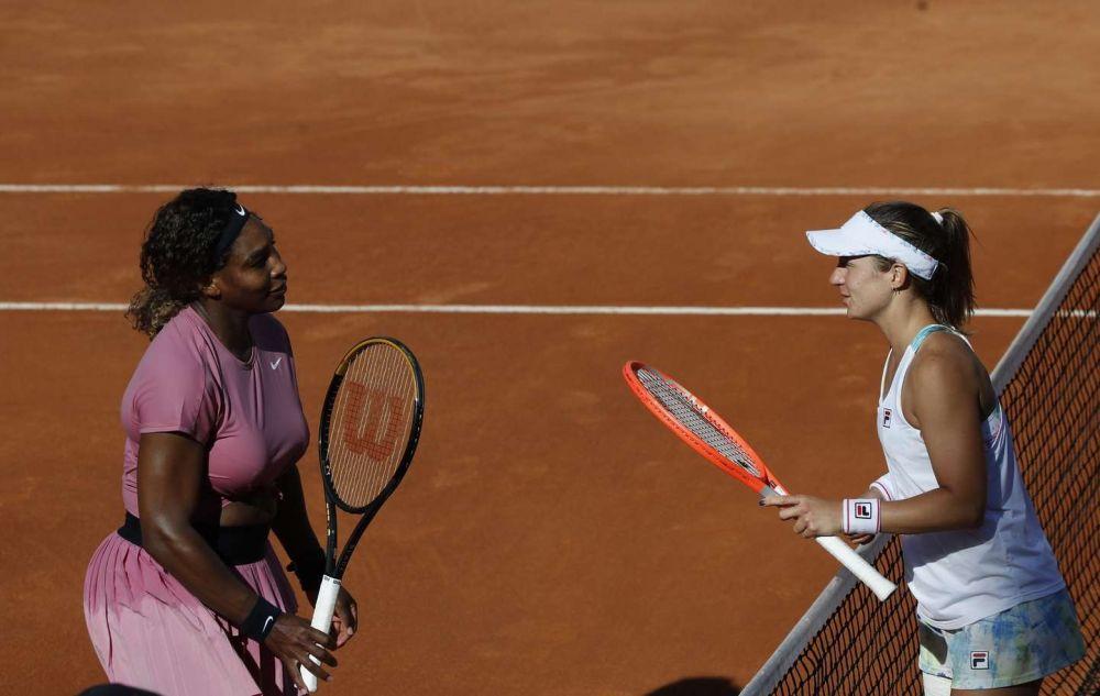 Podoroska contó que conocía un punto débil de Serena Williams