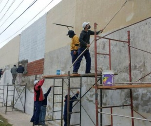 foto: Bella Vista presentó el concurso de muralismo Pinta Payé