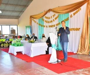 foto: En Tabay, Valdés inauguró la ampliación de una Escuela Primaria