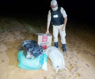 foto:  Incautaron más de 100 kilos de droga que pasaron desde Paraguay