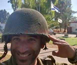 foto: Conocé  al chaqueño que presta servicio en el ejército israelí