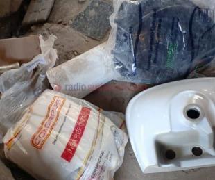 foto: Tras allanamientos secuestraron varios elementos robados