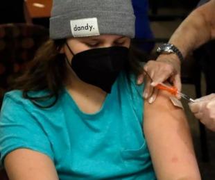 foto: EEUU comenzó a vacunar a adolescentes de 12 años contra el covid