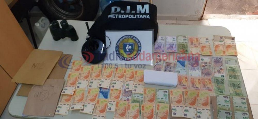 Detienen a banda chaqueña que robó a un repartidor en Corrientes