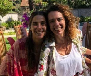 foto: El dolor de Juana Viale por la muerte de su