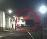 Ushuaia: feroz incendio en una Base Naval de la Armada