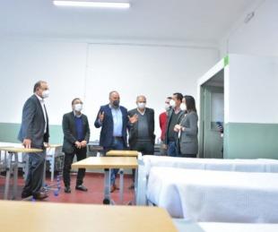 foto: La Provincia habilitó un nuevo sector del Hospital de Campaña