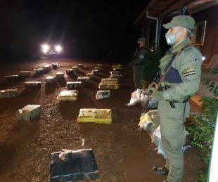 foto: Misiones: hallan casi 1000 kilos de marihuana en unos arbustos