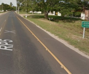 foto: Ruta 5: un motociclista murió luego de chocar contra otra moto