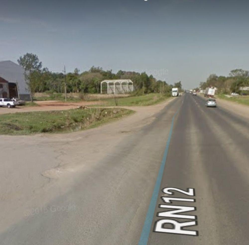 Ruta 12: dos hombres resultaron heridos luego de un accidente