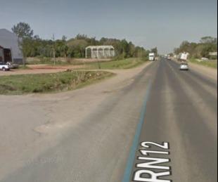 foto: Ruta 12: dos hombres resultaron heridos luego de un accidente