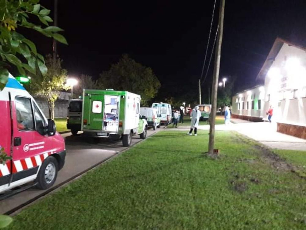 Fallecieron nueve personas por Covid 19 en el Hospital de Campaña
