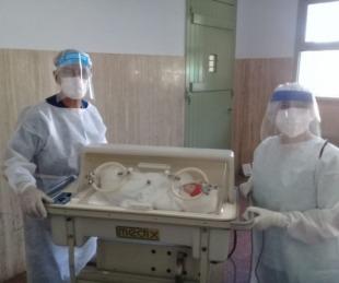 foto: Nacieron dos niños más en el Hospital de Campaña de Corrientes