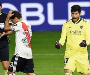 foto: Boca venció a River por penales y avanzó a semifinales de la copa