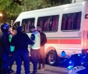foto: Detienen a combis que llevaban adolescentes a fiestas clandestinas