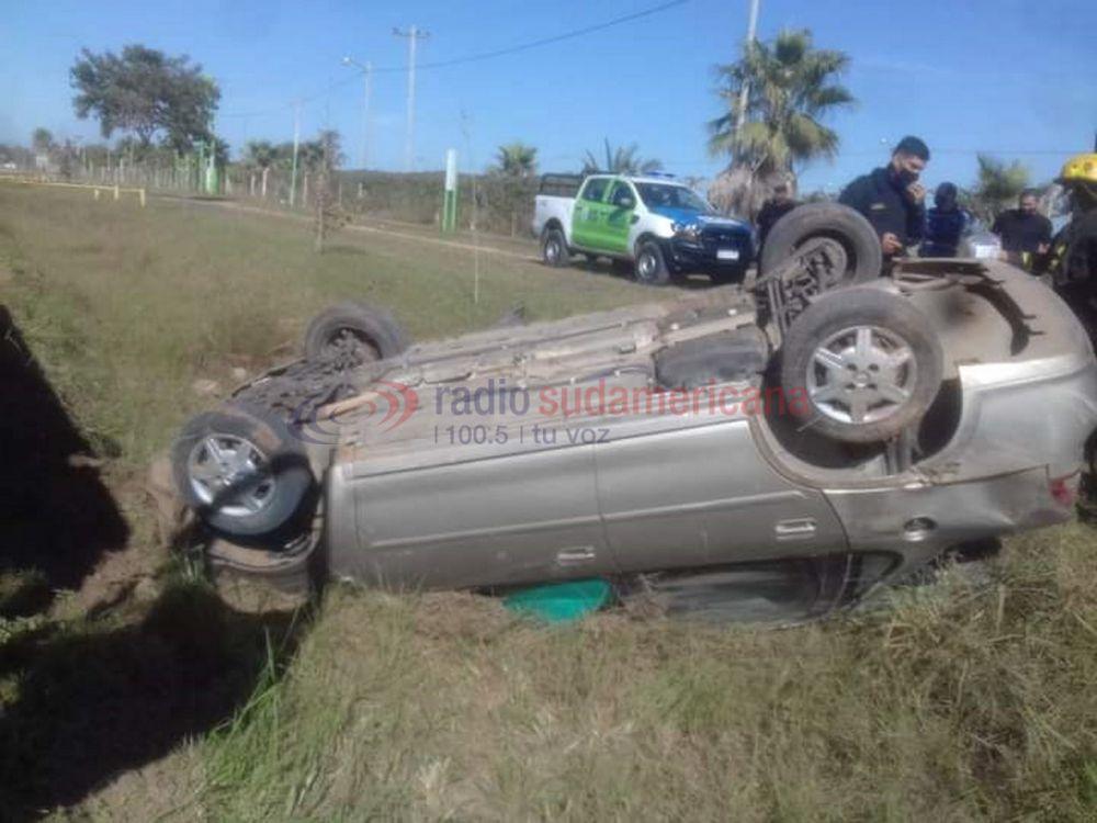 Tragedia: un hombre murió luego de volcar con su auto sobre Ruta 12