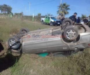 foto: Tragedia: un hombre murió luego de volcar con su auto sobre Ruta 12